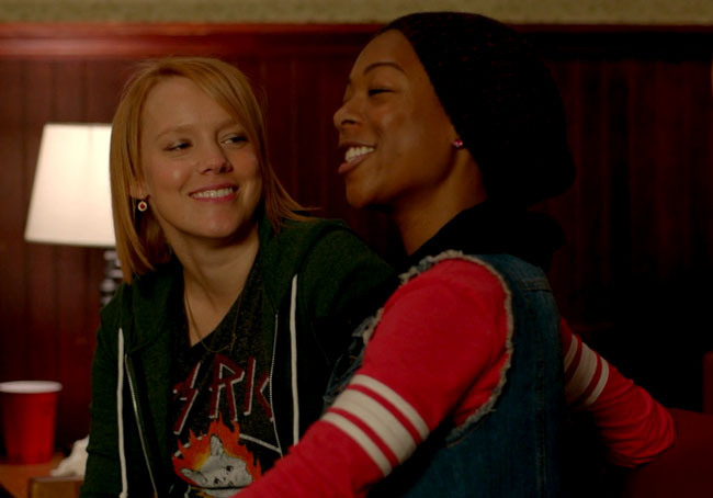 orange is the new black poussey dating writer