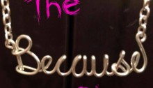 The Because Show Logo